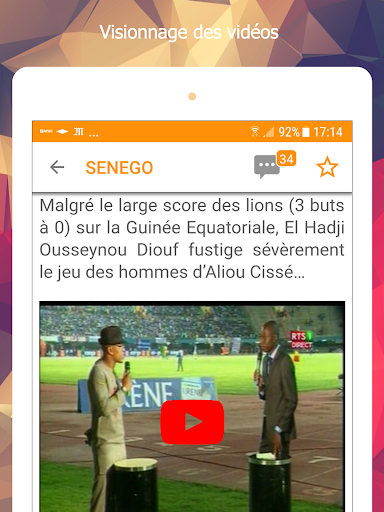 Senego: News in Senegal  screenshots 10