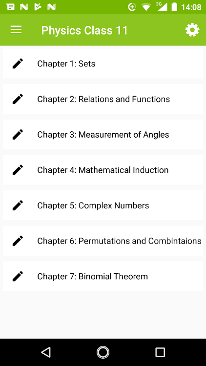 Class 11 Mathematics Notes – (Android Applications) — AppAgg