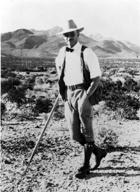 Howard K. Gloyd in Arizona, 1937