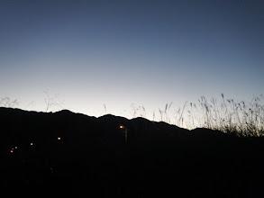 まだ日の出前