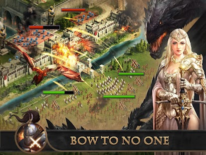 play King of Avalon: Dragon Warfare on pc & mac
