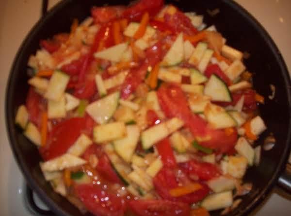 Zucchini & Vegetable Side Dish Recipe