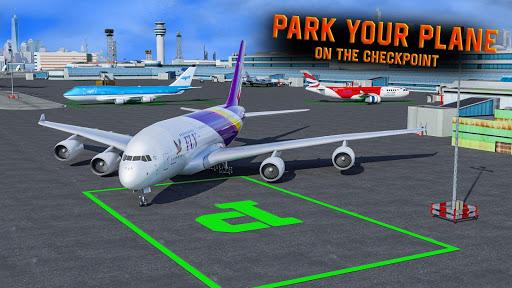 Télécharger Vol Pilote Parking Roi APK MOD 1