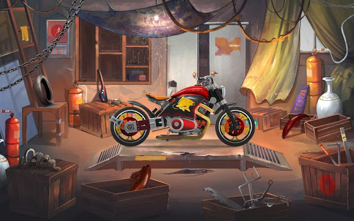 Mini Bike Stunt Trails - Racing Bike Games screenshots 3