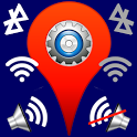Location Based Profile Setting icon