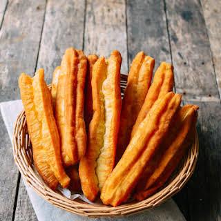 Youtiao (Chinese Fried Dough).