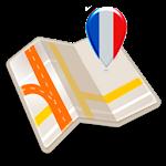 Map of Paris offline Icon