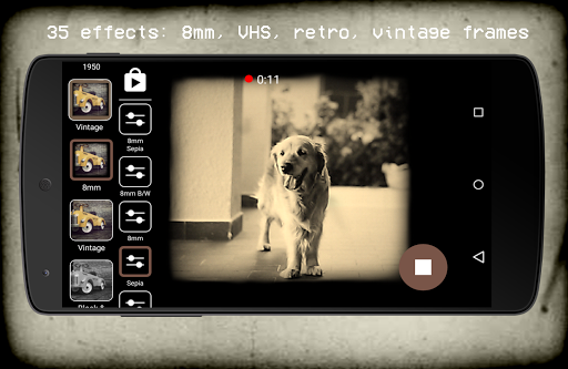 Foto do Vintage Retro Camera + VHS