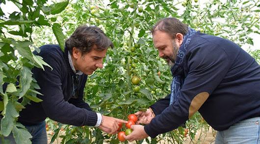 Ángel Ruiz Serna (d) y Javier Moreno (i), de Ecoculture Biosciences.