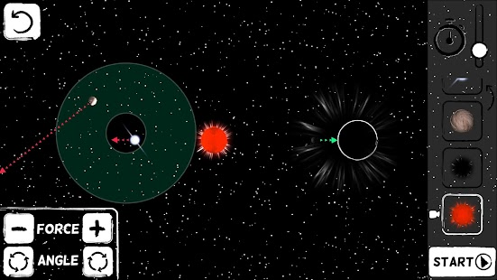 God's Orbits - Gravity Puzzles Screenshot