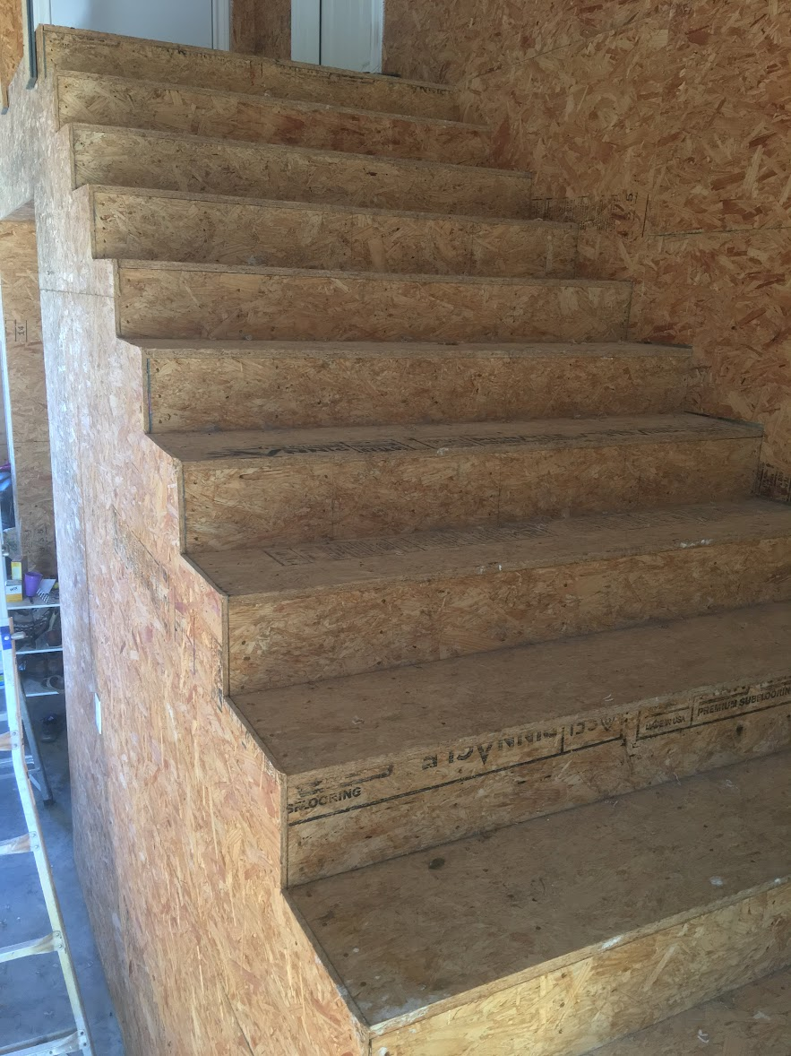 Unfinished OSB Staircase