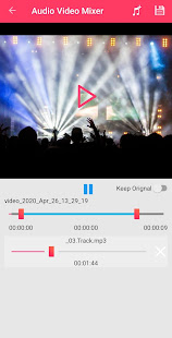 Add a song to the movie for PC-Windows 7,8,10 and Mac apk screenshot 4
