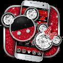 Diamond Glitter Micky Theme icon
