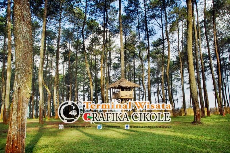 Terminal Wisata Grafika Cikole Outbond, Restoran dan Hotel di Lembang