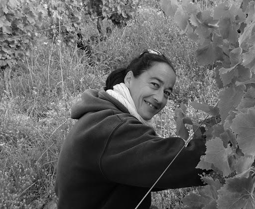 Lucile Dumoulin, responsable biodynamie au Domaine Duseigneur à Châteauneuf du pape