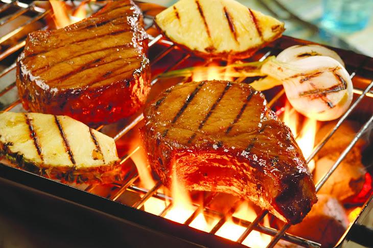 Pork Chops Sate Recipe