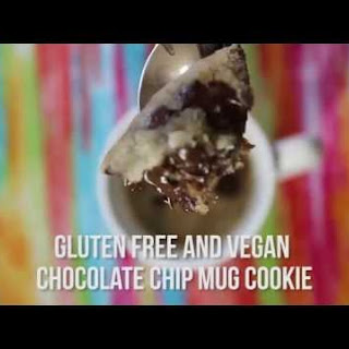 Easy Gluten Free/Vegan Mug Cookie Recipe Video