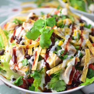 Rumbi Copycat BBQ Chicken Salad