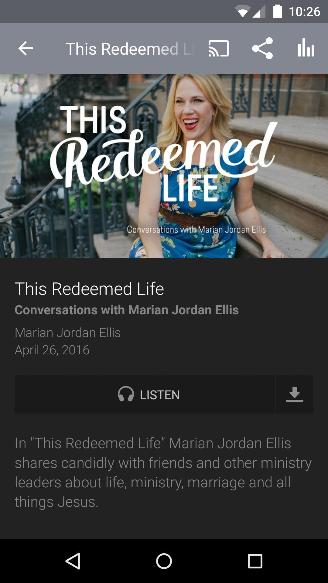 Redeemed Girl Ministries screenshot #2