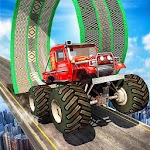 Monster Truck Stunt Impossible Tracks Icon