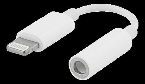 Adapter iPhone lightning/3,5mm