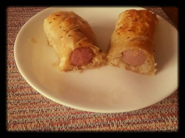 Pigs In A Blanket With Sauerkraut And Mustard Recipe