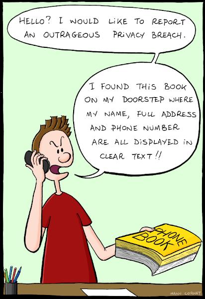 Photo: http://www.bonkersworld.net/privacy-breach/ #comic