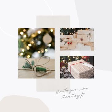 Love the Giver - Christmas template