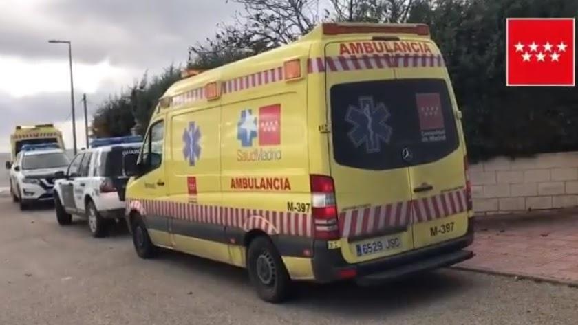 Servicios de emergencias de la Comunidad de Madrid.