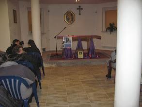 Photo: Na impuls przeszliśmy do auli Jana Pawła II- Jaka piękna podłoga!!!!!!!!!!!!!!