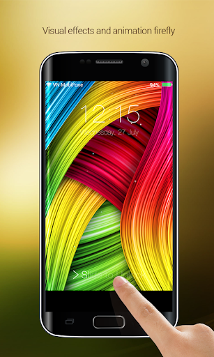 S7 Galaxy Lock Screen