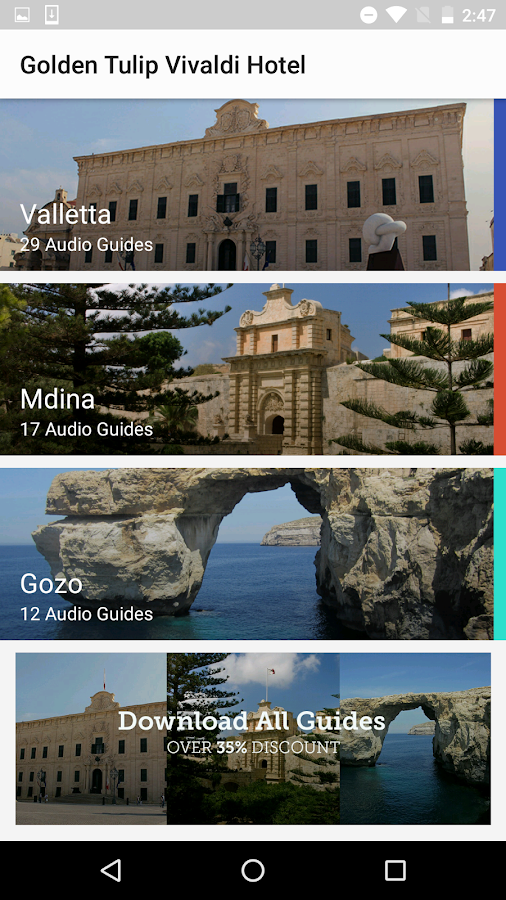 Vivaldi Hotel Malta- screenshot