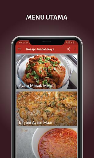 Resepi Juadah Raya screenshot 1