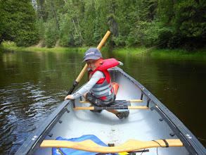 Photo: Leading the family on a historic Mattagami river canoe trip