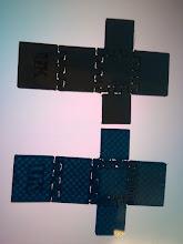 Photo: MatterHackers blue PRO PLA (opaque) vs. MatterHackers Blue PLA (Translucent).  I think it is dye vs. pigment.