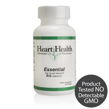 Heart Health™魚油(含維他命E)單瓶裝 (60份)