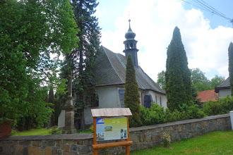 Photo: kostel na kraji Kružberku