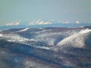 Photo: Tatry z Osadzkiego Wierchu - odległość około 180km