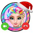 📱 Ice Queen Rainbow call you : Callprank