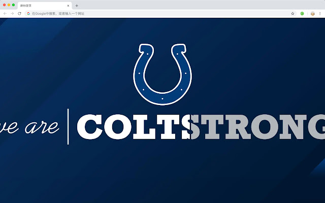 Indianapolis Colts NFL HD New Tabs Themes
