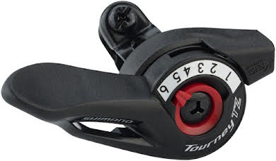 Shimano TZ500 6-Speed Right Thumb Shifter alternate image 0