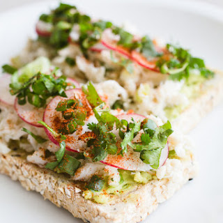 Miami Avocado Crab Toast