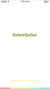 BeforeGoOut - náhled