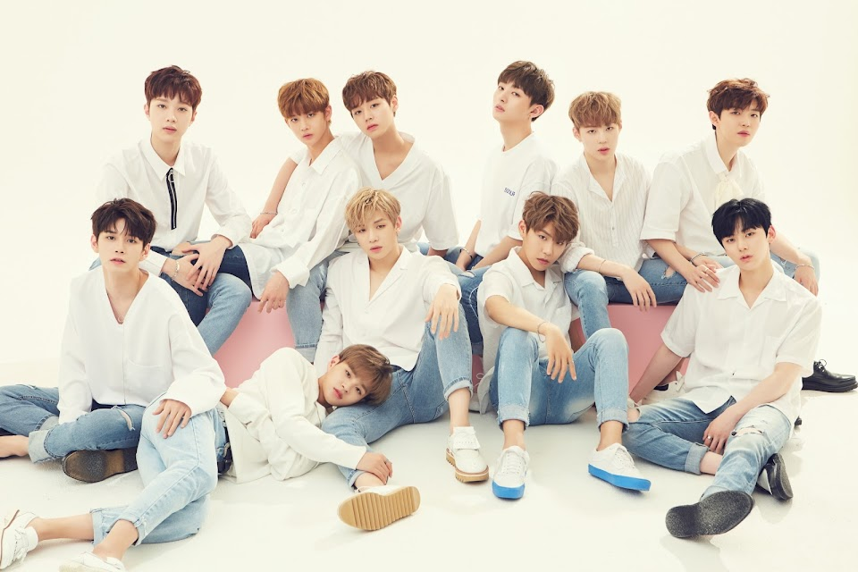 wanna one main