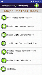 Photos Recovery Software Help screenshot 0