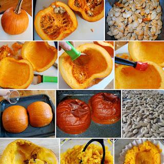 Homemade Pumpkin Purée.