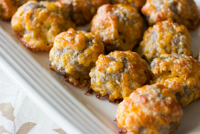 Keto Sausage Balls Recipe