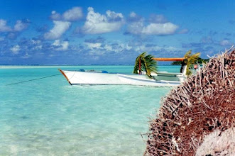 Photo: Tetiaroa en Polynésie française.