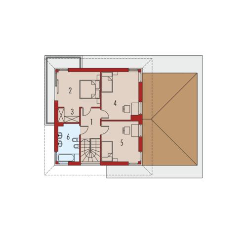 Rodrigo III G1 - Rzut piętra