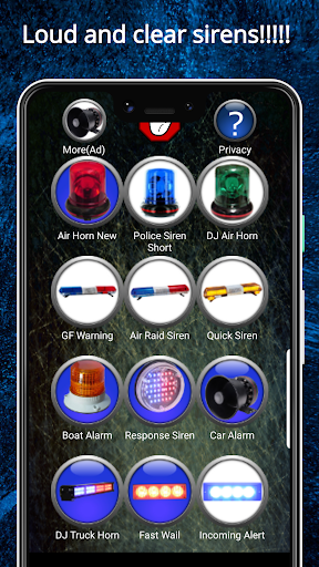 Siren Ringtones screenshot 1